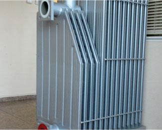 Radiator Amp Corrugated Wall